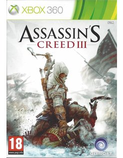 ASSASSIN'S CREED III (3) for Xbox 360