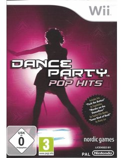 DANCE PARTY POP HITS for Nintendo Wii