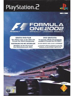 FORMULA ONE 2002 voor Playstation 2 PS2