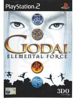 GODAI ELEMENTAL FORCE for Playstation 2 PS2