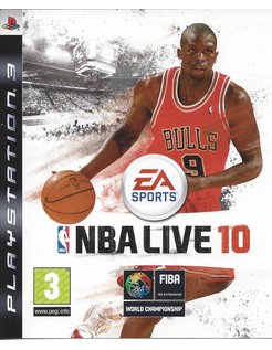 NBA LIVE 10 for Playstation 3 PS3