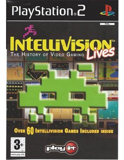 INTELLIVISION LIVES THE HISTORY OF VIDEO GAMING for Playstation 2 PS2