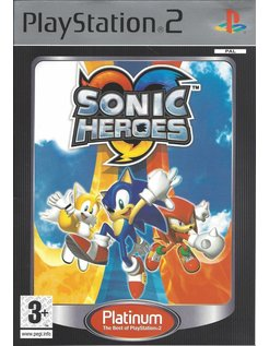 SONIC HEROES PLATINUM voor Playstation 2 PS2