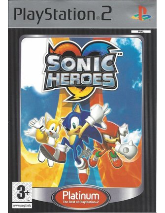 SONIC HEROES PLATINUM for Playstation 2 PS2