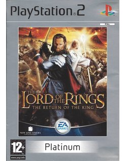 LORD OF THE RINGS THE RETURN OF THE KING PLATINUM for Playstation 2 PS2