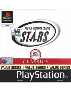 THE F.A. PREMIER LEAGUE STARS voor Playstation 1 PS1