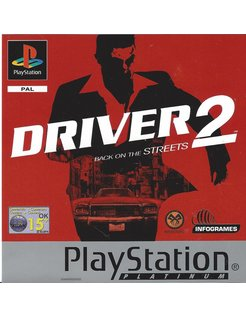 DRIVER 2 PLATINUM für Playstation 1 PS1