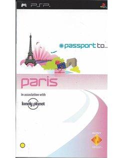 PASSPORT TO PARIS for PSP