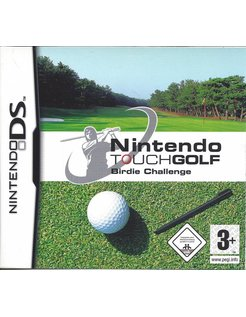 NINTENDO TOUCH GOLF BIRDIE CHALLENGE for Nintendo DS
