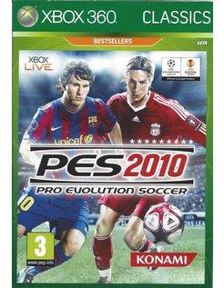 PRO EVOLUTION SOCCER PES 2010 voor Xbox 360