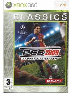 PRO EVOLUTION SOCCER PES 2009 CLASSICS for Xbox 360