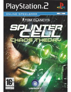 TOM CLANCY'S SPLINTER CELL CHAOS THEORY voor Playstation 2 PS2