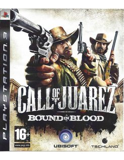 CALL OF JUAREZ BOUND IN BLOOD for Playstation 3 PS3