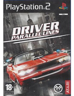 DRIVER PARALLEL LINES for Playstation 2 PS2