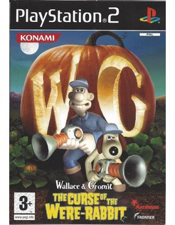 WALLACE AND GROMIT THE CURSE OF THE WERE RABBIT for Playstation 2 PS2