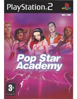POP STAR ACADEMY for Playstation 2 PS2
