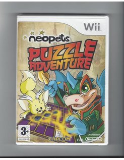 NEOPETS PUZZLE ADVENTURE NEW IN SEAL for Nintendo Wii