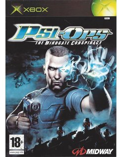 PSI-OPS THE MINDGATE CONSPIRACY for Xbox - manual in French, Dutch