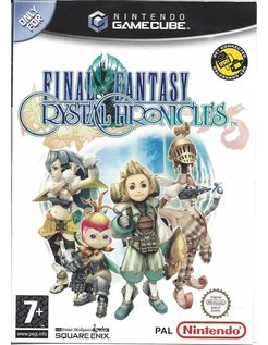 FINAL FANTASY CHRYSTAL CHRONICLES voor Nintendo Gamecube