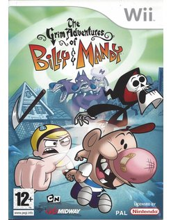 THE GRIM ADVENTURES OF BILLY AND MANDY for Nintendo Wii