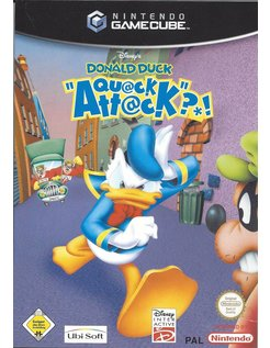 DISNEY'S DONALD DUCK QUACK ATTACK for Nintendo Gamecube