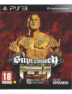 SUPREMACY MMA voor Playstation 3 PS3