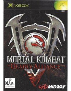 MORTAL KOMBAT DEADLY ALLIANCE voor Xbox