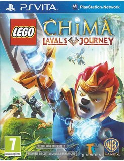LEGO LEGENDS OF CHIMA LAVAL'S JOURNEY for PS VITA