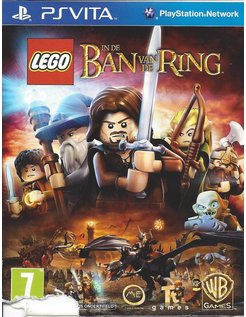 LEGO IN DE BAN VAN DE RING for PS VITA