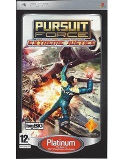PURSUIT FORCE EXTREME JUSTICE PLATINUM for PSP
