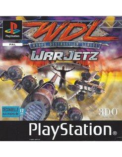 WORLD DESTRUCTION LEAGUE WDL WARJETZ for Playstation 1 PS1