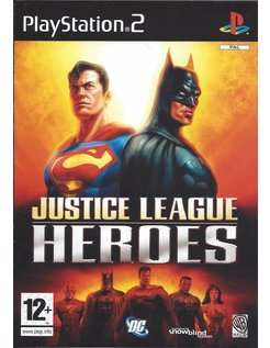 JUSTICE LEAGUE HEROES voor Playstation 2 PS2