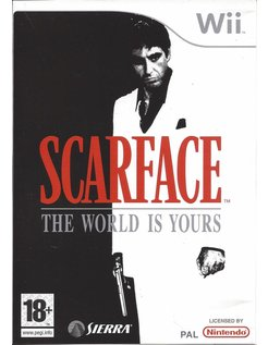 SCARFACE THE WORLD IS YOURS for Nintendo Wii