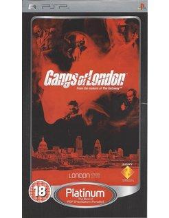 GANGS OF LONDON for PSP - Platinum