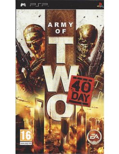 ARMY OF TWO THE 40TH DAY for PSP