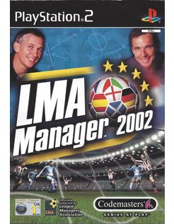 LMA MANAGER 2002 für Playstation 2 PS2