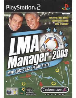 LMA MANAGER 2003 für Playstation 2 PS2