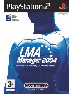 LMA MANAGER 2004 voor Playstation 2 PS2