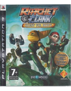 RATCHET & CLANK QUEST FOR BOOTY voor Playstation 3 PS3