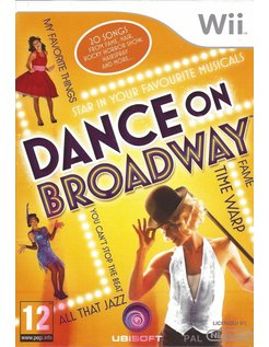 DANCE ON BROADWAY for Nintendo Wii