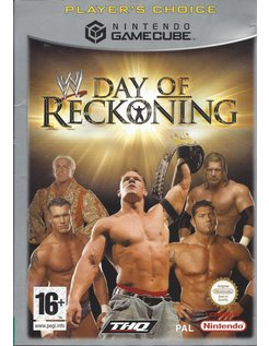 WWE DAY OF RECKONING for Nintendo Gamecube