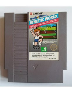 FAMILY FUN FITNESS ATHLETIC WORLD for Nintendo NES