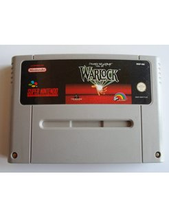 WARLOCK for SNES Super Nintendo