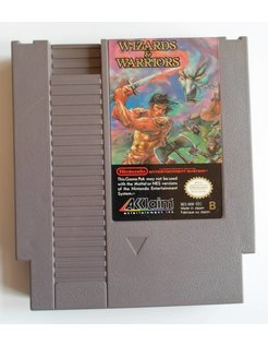 WIZARDS & WARRIORS for Nintendo NES
