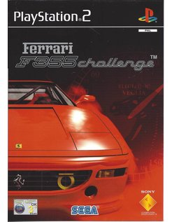 FERRARI F355 CHALLENGE for Playstation 2 PS2 - manual in English