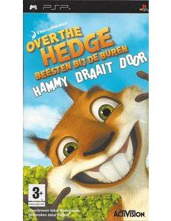 OVER THE HEDGE - BEESTEN BIJ DE BUREN HAMMY DRAAIT DOOR for PSP