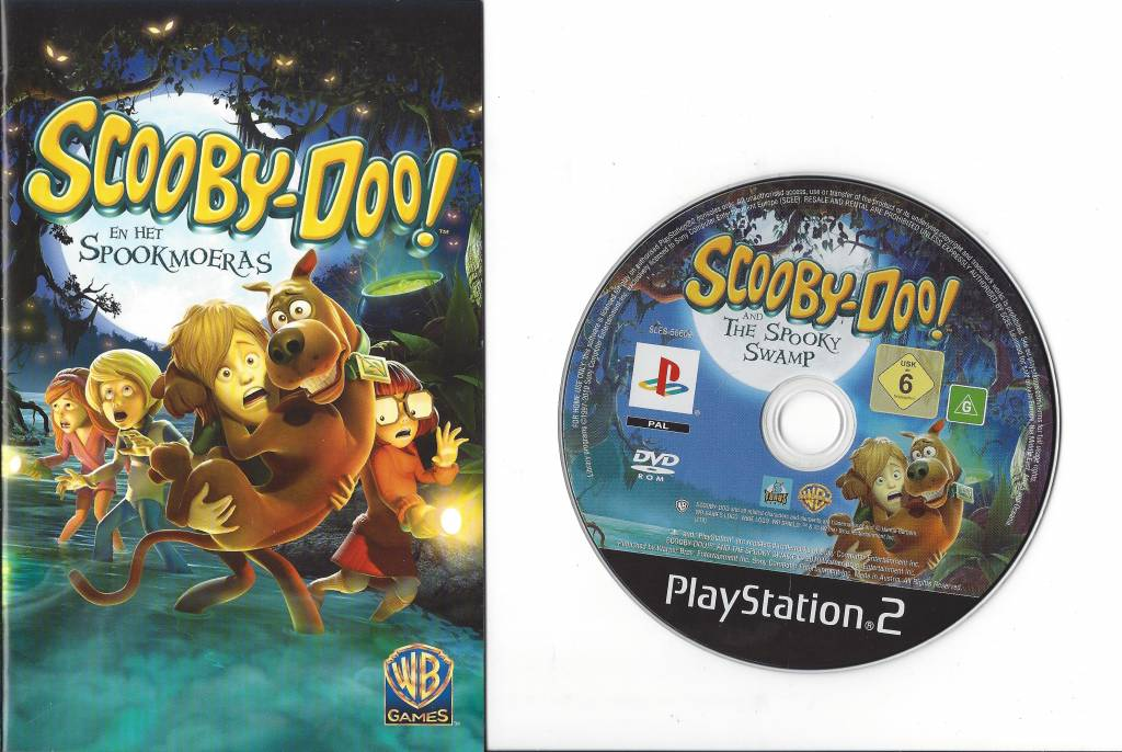 Scooby Doo En Het Spookmoeras Spooky Swamp For Playstation 2 Ps2