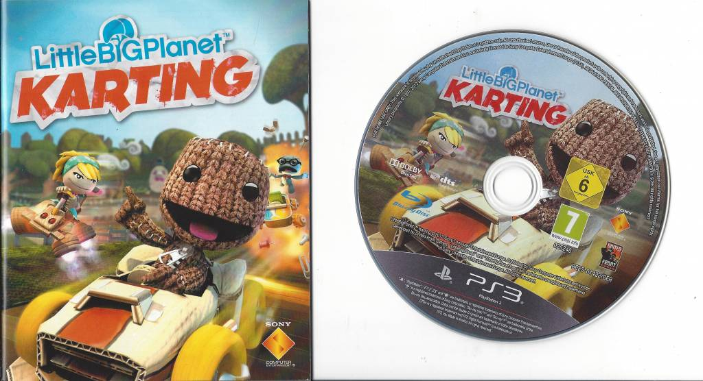 Little Big Planet Karting Für Playstation 3 Ps3 Passion For Games
