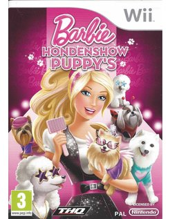 BARBIE HONDENSHOW PUPPY'S for Nintendo Wii