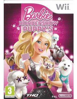 BARBIE HONDENSHOW PUPPY'S for Nintendo Wii